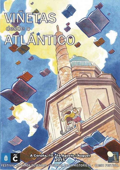 Cartel de Viñetas desde el Atlántico 2015